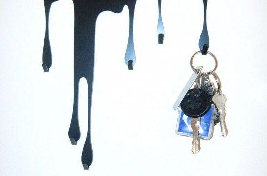 Cuelga llaves cinco ideas para fabricarlos en casa eroski consumer - Para colgar llaves ...