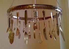 Ideas para crear l mparas con objetos reutilizados - Eroski iluminacion ...
