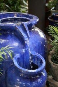 Una fuente en el jard n eroski consumer for Fabricar estanque