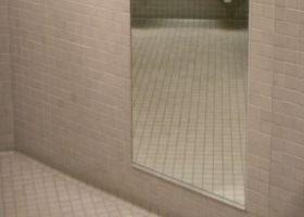 Espejos de cuerpo entero para el cuarto de ba o eroski for Espejo cuerpo entero