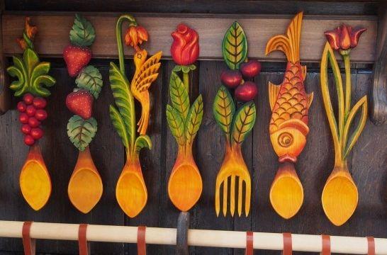 Decorar los utensilios de cocina de madera | EROSKI CONSUMER