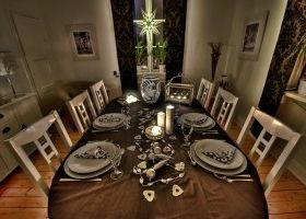 Ideas para decorar la mesa de nochevieja eroski consumer - Decoracion mesa nochevieja ...
