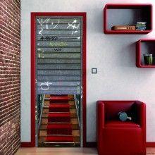 Decorar puertas con vinilos autoadhesivos eroski consumer for Decorazioni pareti leroy merlin