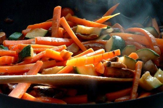 Cocinar con wok ventajas y consejos eroski consumer - Cocinar con wok en vitroceramica ...