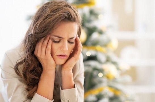 Migraña por los excesos en Navidad
