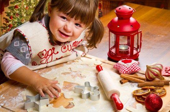 Galletas de jengibre para hacer con los niños en Navidad