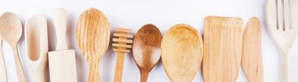 Cómo limpiar las cucharas de madera