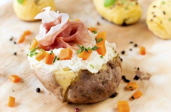 Cocina fácil: patatas rellenas