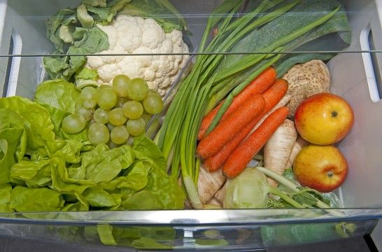 Siete trucos para conservar verduras en la nevera