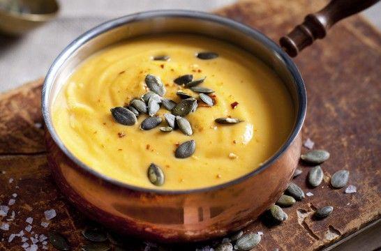 Crema de calabaza y otras sopas para el otoño