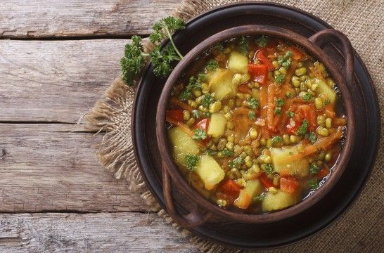 Guisos vegetarianos con lo mejor del otoño