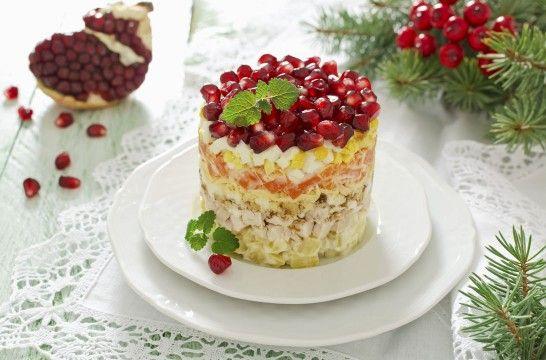 Las mejores ensaladas de Navidad