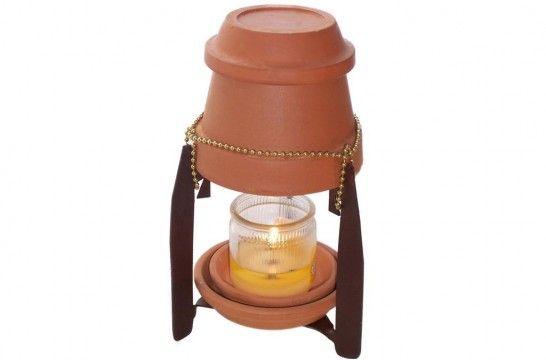 Macetas y velas para calentar la casa por qu no es una buena idea eroski consumer - Como calentar la casa ...