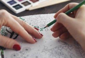 siente y crea en pintura