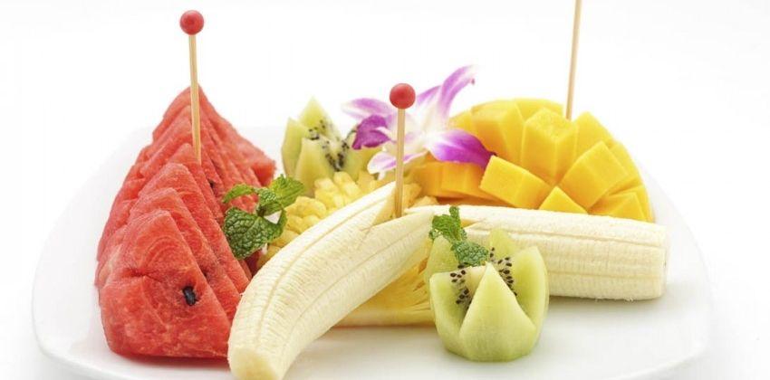 Cinco platos principales con fruta de verano