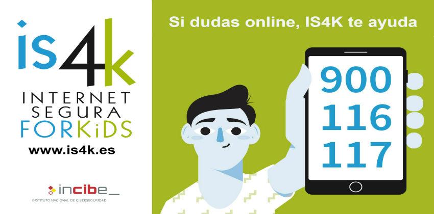 ¿Niños y adolescentes en Internet? IS4K te ayuda a resolver dudas y conflictos