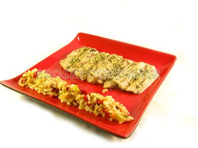 Receta de filetes de sardinas a la plancha con arroz salteado