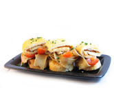 Receta de tortilla francesa con ensalada de pasta integral - Tortilla francesa calorias ...