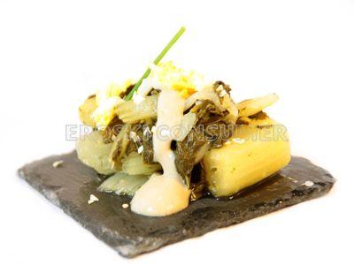 Red de alimentos de recetas de pechuga de pato