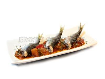 Sardinas en moraga