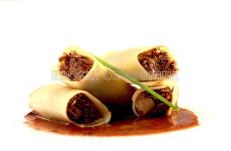 Recetas De Cocina Rabo De Toro | Receta De Canelones De Rabo De Toro Eroski Consumer