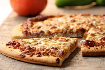 Receta de pizza con pollo y salsa barbacoa
