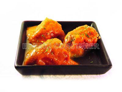Receta de pimientos rellenos de carne con salsa de piquillos eroski consumer - Salsa para relleno de carne ...