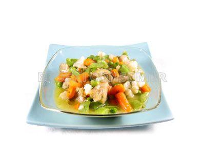 Macedonia de verduras a la navarra