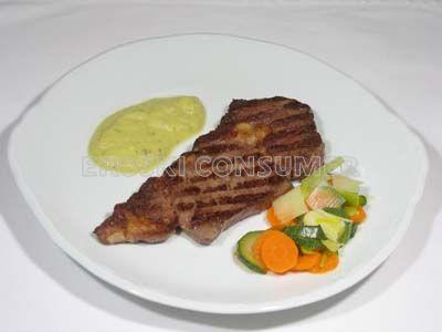 Receta de filetes o entrecot de ternera con salsa de manzana eroski consumer - Salsa para ternera a la plancha ...
