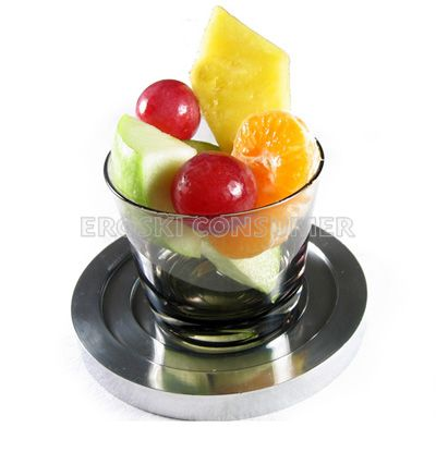 Macedonia con frutas frescas